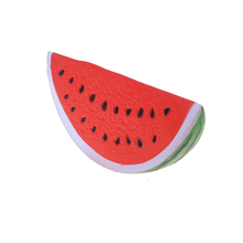 JETTING Kawaii Anti-stress Squishy Watermelon Super Slow Rising Squeeze Stretch Bread Cake Kid Toy Gifts Mobile Phone Strapes(China)