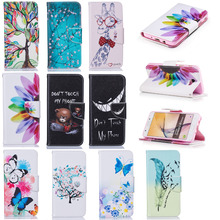Luxury PU Leather Back Cover Case Protective Shell For Samsung Galaxy J5 Prime Clamshell Wallet Flip Phone Case + Card Holder