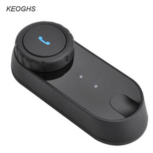 KEOGHS Motorcycle helmet bluetooth intercom headset interphone for riders moto walkie talkie intercomunicador 1000m
