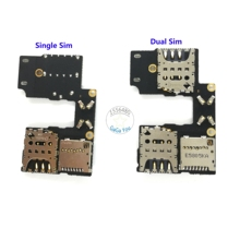 5x Single/ Dual Sim Card Slot Socket Holder Flex Cable For Motorola Moto G 3rd Gen G3 Memory Card Holder