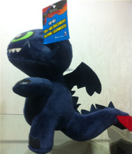 NEW How to train your dragon 2  six color plush toy toothless dragon toothless toys toothless plush toy
