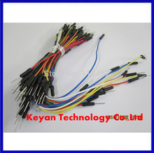 65pcs=1set Jump Wire Cable Male to Male Jumper Wire for Arduino Breadboard 65 jump wires