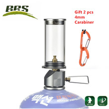 BRS-55 Outdoor Camping Lamp Ultralight Portable Gas Lamp Tourist the Tent Night Lights Camping Gas Lantern(China)