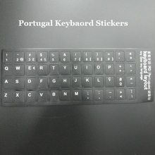 Solque 5pcs Portugual Portuguese Keyboard Stickers For Macbook Air 13 Pro 13 15 Retina Laptop Keyboard Cover Sticker for iMac(China)