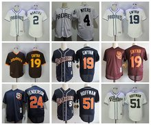 Men's San Diego Padres White 2017 Cool Base Custom Baseball Jersey