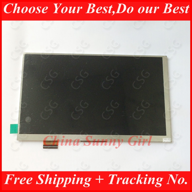 New LCD Display For 7 Supra M74AG 3G / Supra M72KG Tablet 1024X600 inner LCD screen Matrix module Replacement Free Shipping<br><br>Aliexpress