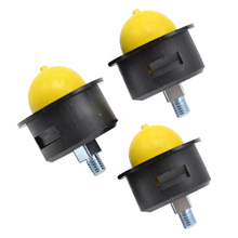 3PCS Replacment Carburetor Primer Bulb with Steel Bolt For Lawn Mower Blower Engine Garden Tools Spare Parts