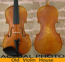 100% handmade. StradIvarius 1715 Violin Model . Rich Tone. Antique Violin Oil Varnish, No.2297