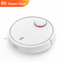 "original Xiaomi Mi robot vacuum cleaner smart home planned aspirador LDS scan mijia mapping WiFi App Control ""S"" Path Cleaning"