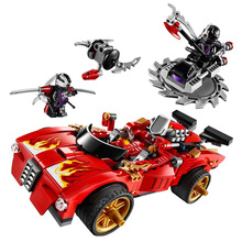 Ninja Duel Racing Truck Toy Ninja Child Education Toy Child Compatible Tripod Building Brick(China)