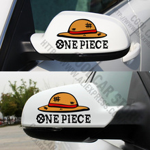 1 Pair One Piece Car Stickers Car Rearview Mirror Stickers For Golf MK7 Mazda CX 5 Jetta MK6 all cars(China)