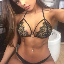 Bikini 2017 Hot Sexy Lace lingerie Bikinis Swimwear Women Beach Swim Wear Bathing Suit Woman Brazilian Swimsuit Maillot de Bain
