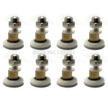 SET OF 8 SHOWER DOOR ROLLERS RUNNERS WHEELS PULLERS 27 x 5.5mm, set of 8(China)