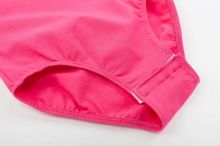 Long sleeved Spandex cotton girls gymnastics leotard (3)