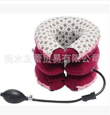 Neck massage neck massager neck traktion cervicale tractie detachable full-three-layer fixed care inflatable latex support<br><br>Aliexpress