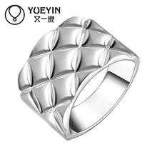 New Design fashion rings Wholesale silver plated rings for women wedding party fashion jewelry Luxurious Factory Price