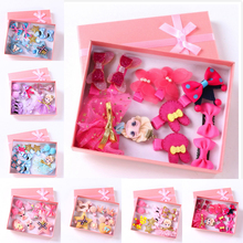 Buy 10 Pcs set New Children hair accessories hairpin girls hair rope princess hair clip hair ornaments kids Barrettes Headdress for $6.55 in AliExpress store