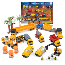 Boy Kids toys Construction car toys Diecast metal Engineering car vehicles Building Excavator bulldozer toys Diecast car model
