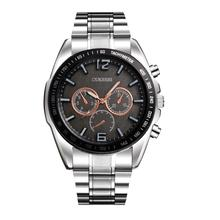 Relogio Masculino Erkek Kol Saati Saat Clock MenWatch Luxury Stainless Steel Quartz Military Sport Steel Band Dial Wrist may30