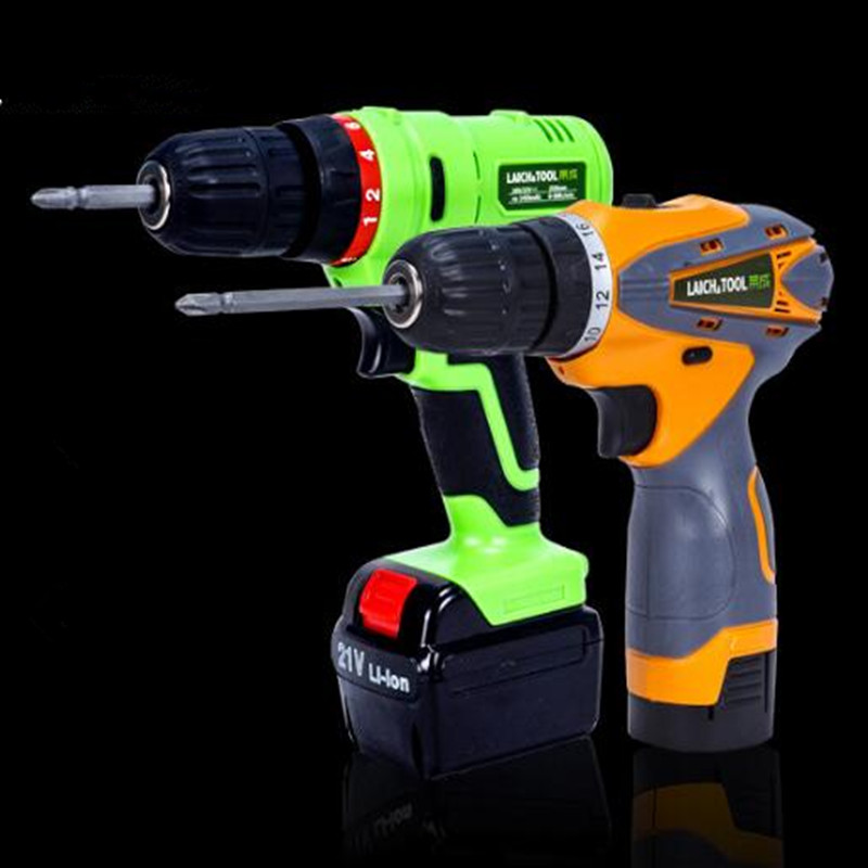 Cordless Drill With Lithium Battry 12v 16.8v 21v Electric Screwdriver Power Tools Waterproof Mini Drill Hand Tools .<br>