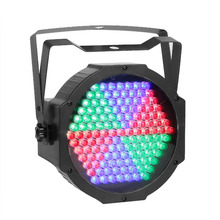 TSSS LED Par Can Stage Light 127 LED RGB DMX512 Lighting for Birthday Party Wedding Club DJ Show(China)