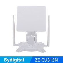 high quality wifi network card with 14dBi High Power pannel USB wifi adapter wireless repeater hot sale(China)