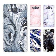 Watercolor Marble tiles stone Clear Transparent Cell Phone Case Cover for Samsung Galaxy A3 A5 A7 A8 A9 2016 2017