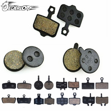 4 Pair Resin MTB Bicycle Bike Cycling Disc Brake Pads Resin brake pads for AVID HAYES TEKTRO Magura Formula Pads(China)