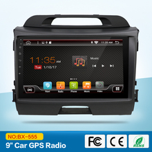"9""android 6.0 car dvd gps player 2 din in dash car radio gps navigation video player for Kia Sportage .R 2012"