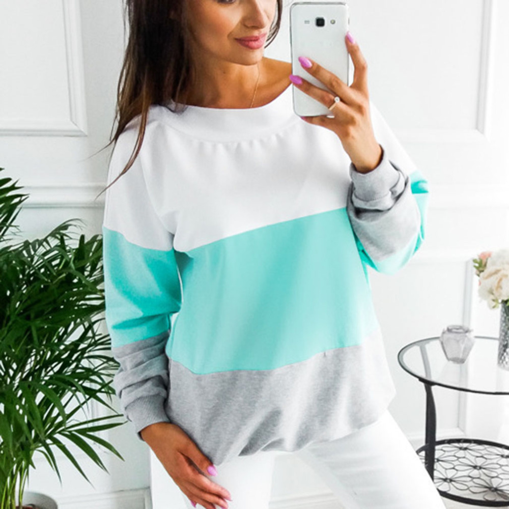 Lace up Bandage Long Sleeve Sweatshirt Hoodie Loose Casual Tops Tee Shirt Hoodies Pullover 15