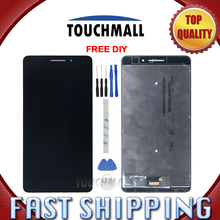 New LCD Display Touch Screen Assembly Replacement For Lenovo Phab Plus PB1-770N PB1-770M PB1-770 White Black + Tools(China)