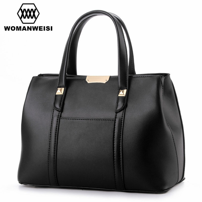 2017 New Fashion Casual Women Messenger Bags High Quality Leather Female Handbags Large Tote Bags Damen Dollar Price 8 Colors<br><br>Aliexpress