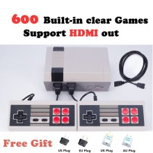 HDMI Out Retro Classic Game Player Family TV Video Game Consoles Childhood Built-in 600 Double handle control PAL NTSC HDMI Out