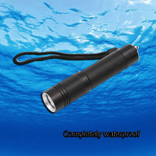 High-quality Mini XML-T6 LED Waterproof Underwater Dive Diving Flashlight Torch Light Lamp For Diving(China)