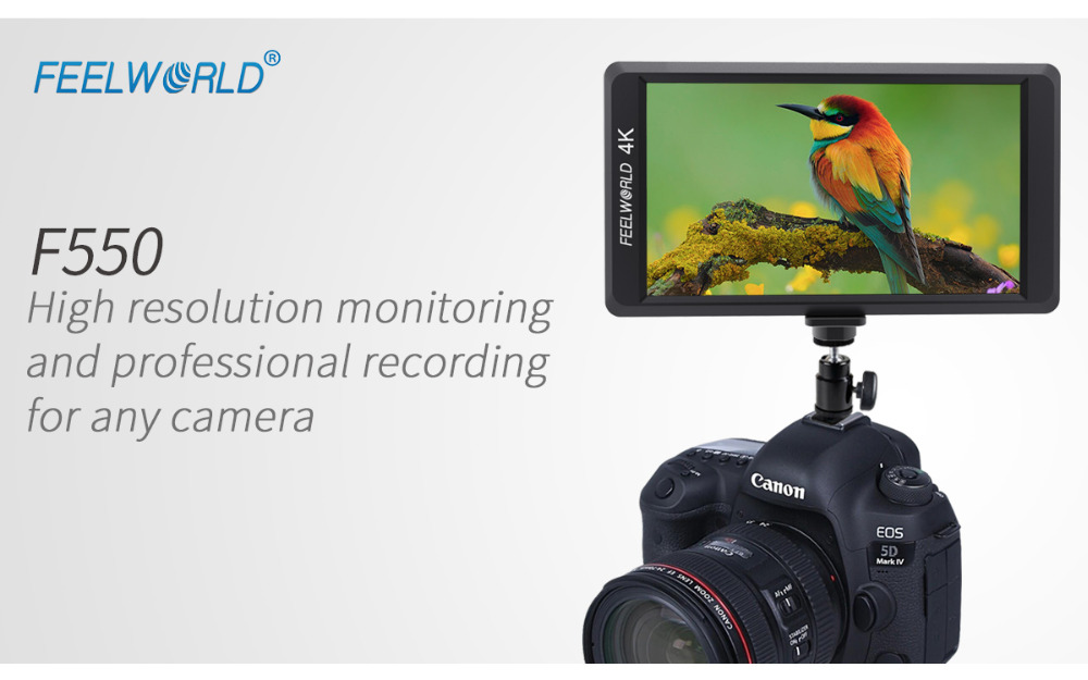 feelworld-F550-4K-monitor-for-4k-camera