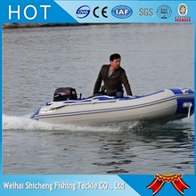 Manufacturing inflatable boat hot selling PVC inflatable motor boat