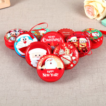 Christmas Creative Cute Coin Purse Wallet Promotional Gifts Mini Small Slim Wallet Children Kids Wallet Red Thin Wallet(China)