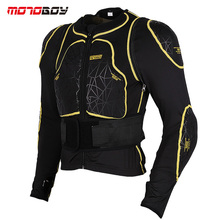 MOTOBOY Removable Sleeves Waist Protector Motorcycle Armor Body Motocross Protector CE Certification Protector(China)