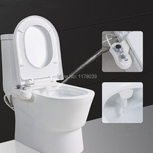 Non electric bidet of hot and cold water,portable toilet bidet enema nozzle,women washing butt bidet,shower ass flusher,J17128(China)