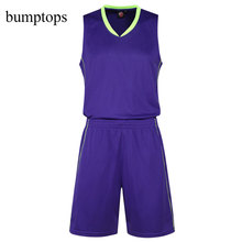 Add Team Customization Basketball Training Uniform DIY Sportswear Men Kits Great Quality Adult Jerseys Shorts Outdoors Suits