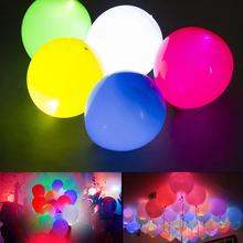 10pcs/Lot High Brightness LED Balloon Light Glow Flash Mini Party Lamps for Paper Lantern Balloon,Wedding Party Decoration P25(China)