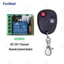 433 Mhz Universal Car Automobile Lock Locking Vehicle Keyless Entry System Power Window DC 12V Switch And 433mhz Remote Controls