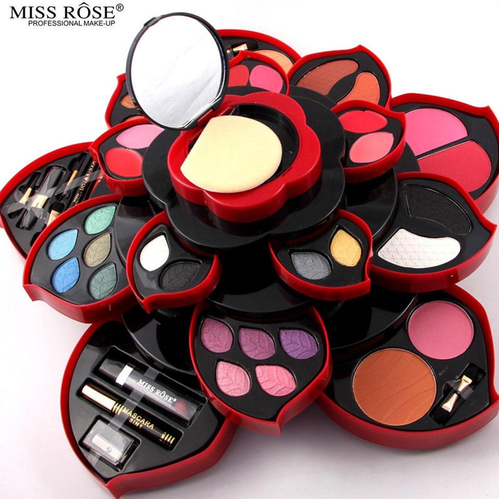 2 Option Newest Professional 46 Full Colors Make Up Kit Blush Eyeliner Lipstick Collection MakeUp Palette 3D Collection For Gift<br>