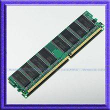 New 1GB PC2100 DDR 266 266mhz 184pin Desktop 1gb  ddr266 PC-2100 184-PIN Low Density DIMM Memory CL3 RAM Module Free shipping