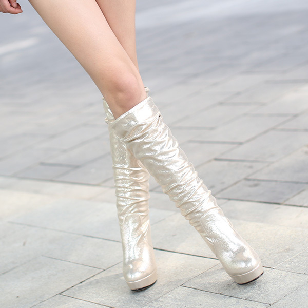 Explosion models 2014 New Fashion sexy ladies boots Women Knee High boots women shoes Rhinestone Decoration SIZE 34-43 XY333<br>