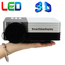 2015 New Cheap HD TV home cinema Projector HDMI LCD LED Game PC Digital Mini Projectors 1080P Proyector 3D Beamer