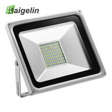 8Pcs 50W LED Flood Light 220-240V 5500LM Reflector Floodlight IP65 Waterproof Led Lamp Adevertising Billboard Outdoor Lighting(China)