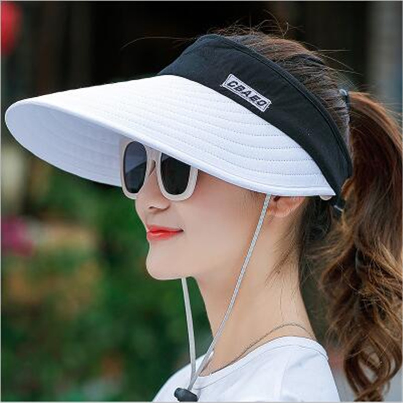 King Star Adjustable Sports Visor Hats Sun Visors Cap for Men Women