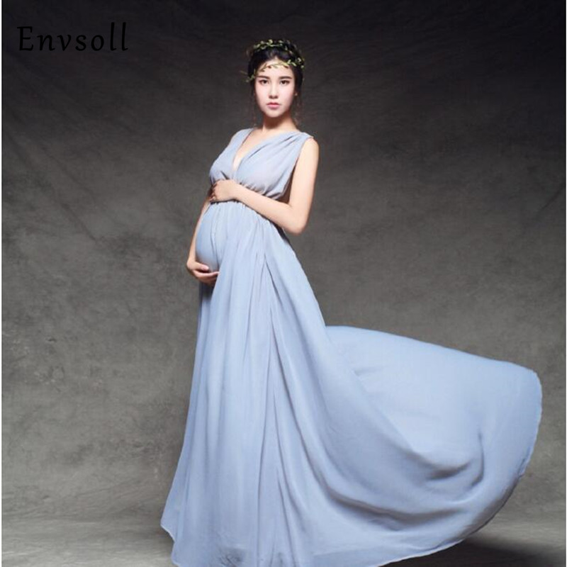 Maternity Photography Props Pregnant Dresses Maternity Dresses Photo Shoot Wedding Dress Maternity Clothes For Pregnant Women<br>