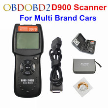 Universal D900 EOBD OBD2 Scanner Car's Engine D900 Code Reader Diagnostic Tool For Multi Brand Cars 2015 Verison